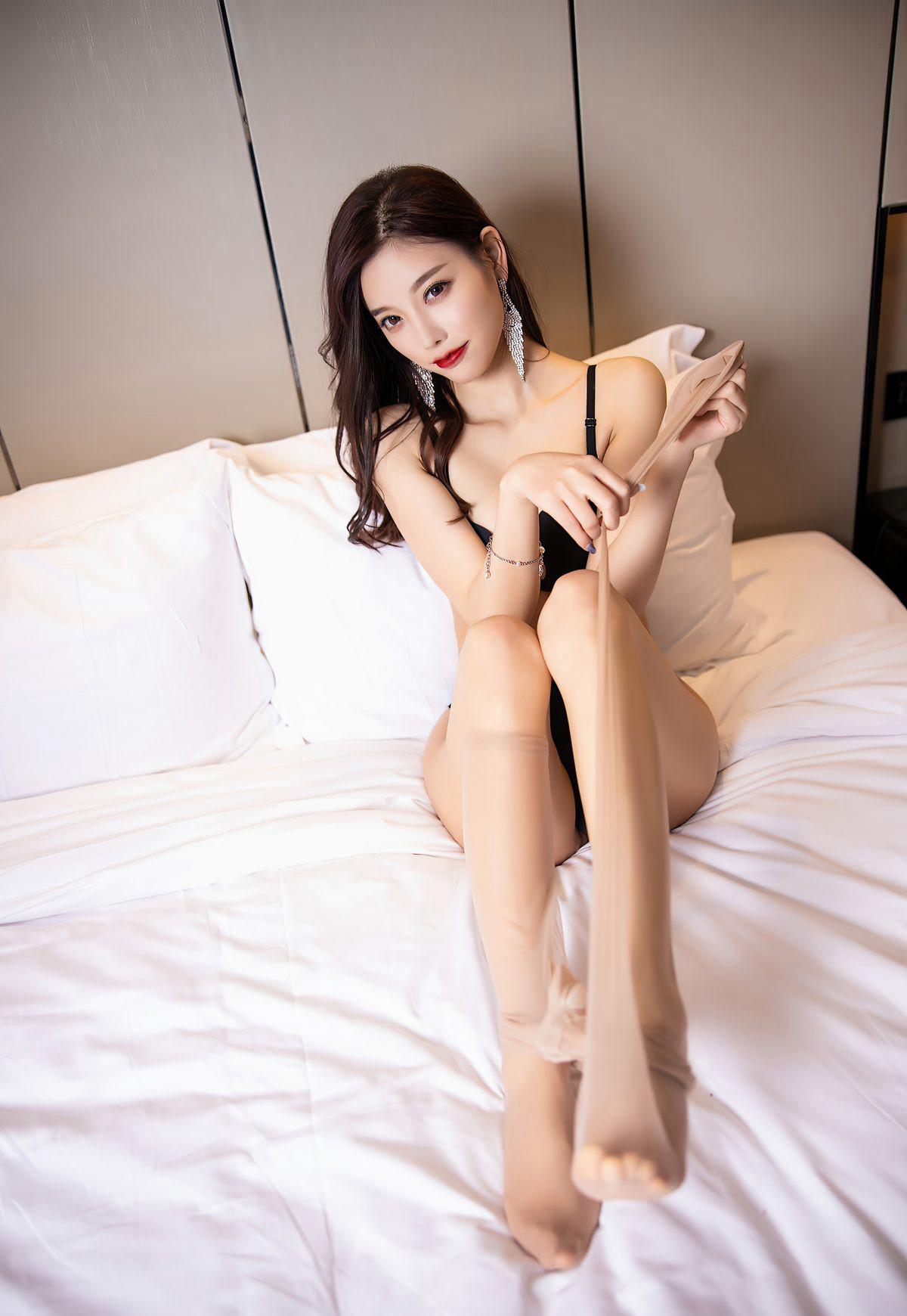杨晨晨sugar2021性感旗袍诱惑肉丝袜美腿高清玉足高跟-91-『游乐宫』Youlegong.com 第31张