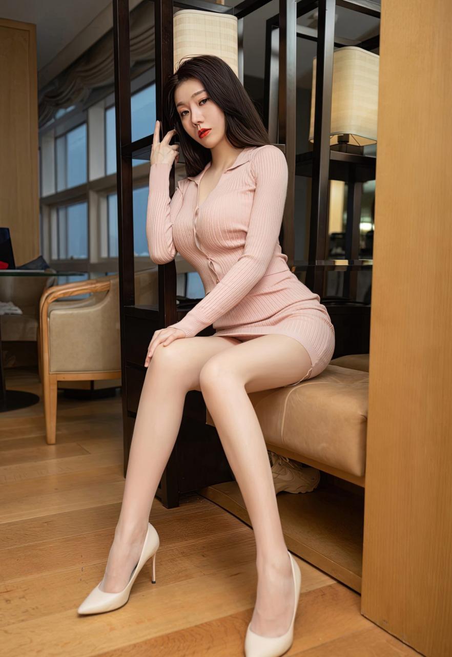 安然Maleah高颜值嫩模风骚裸胸美女少妇肉丝袜高跟写真-115-『游乐宫』Youlegong.com 第8张
