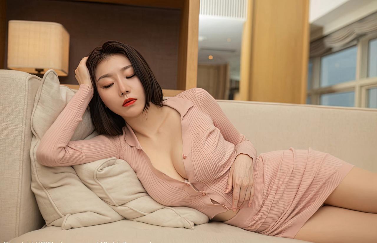 安然Maleah高颜值嫩模风骚裸胸美女少妇肉丝袜高跟写真-115-『游乐宫』Youlegong.com 第4张