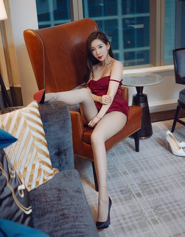 艾静香灰丝无内高清写真-小乔-『游乐宫』Youlegong.com 第14张