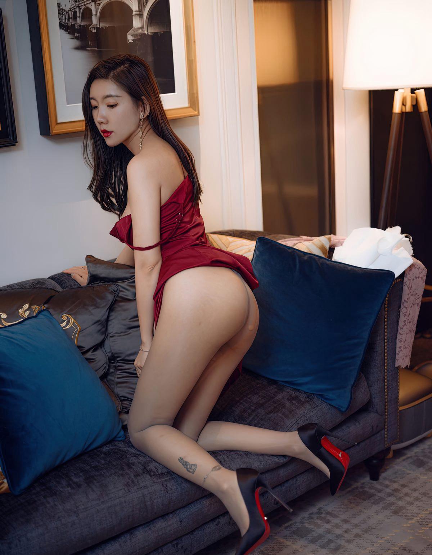 艾静香灰丝无内高清写真-小乔-『游乐宫』Youlegong.com 第6张