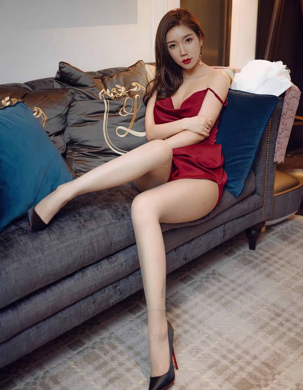 艾静香灰丝无内高清写真-小乔-『游乐宫』Youlegong.com 第9张