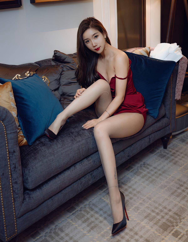 艾静香灰丝无内高清写真-小乔-『游乐宫』Youlegong.com 第8张