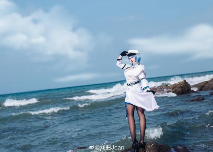 碧蓝航线恰巴耶夫cos 顶级帅气迷人cn九曲Jean (10P)