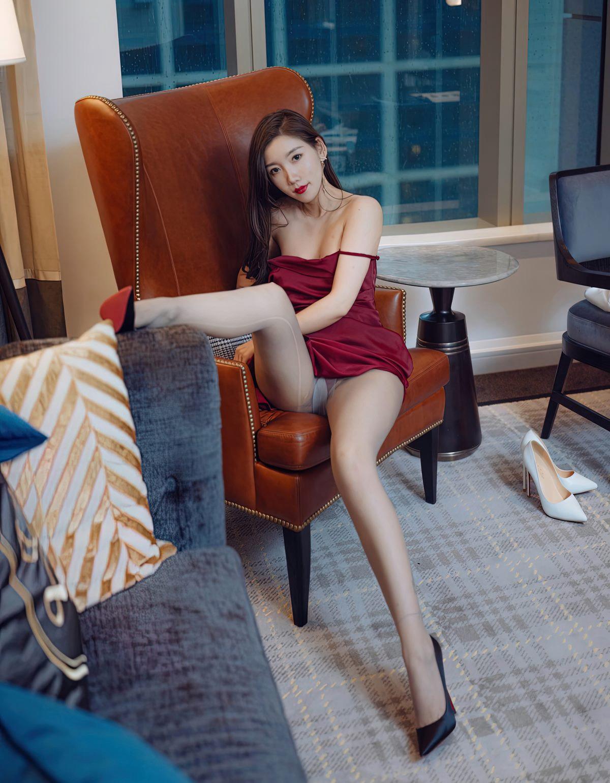 艾静香灰丝无内高清写真-小乔-『游乐宫』Youlegong.com 第15张